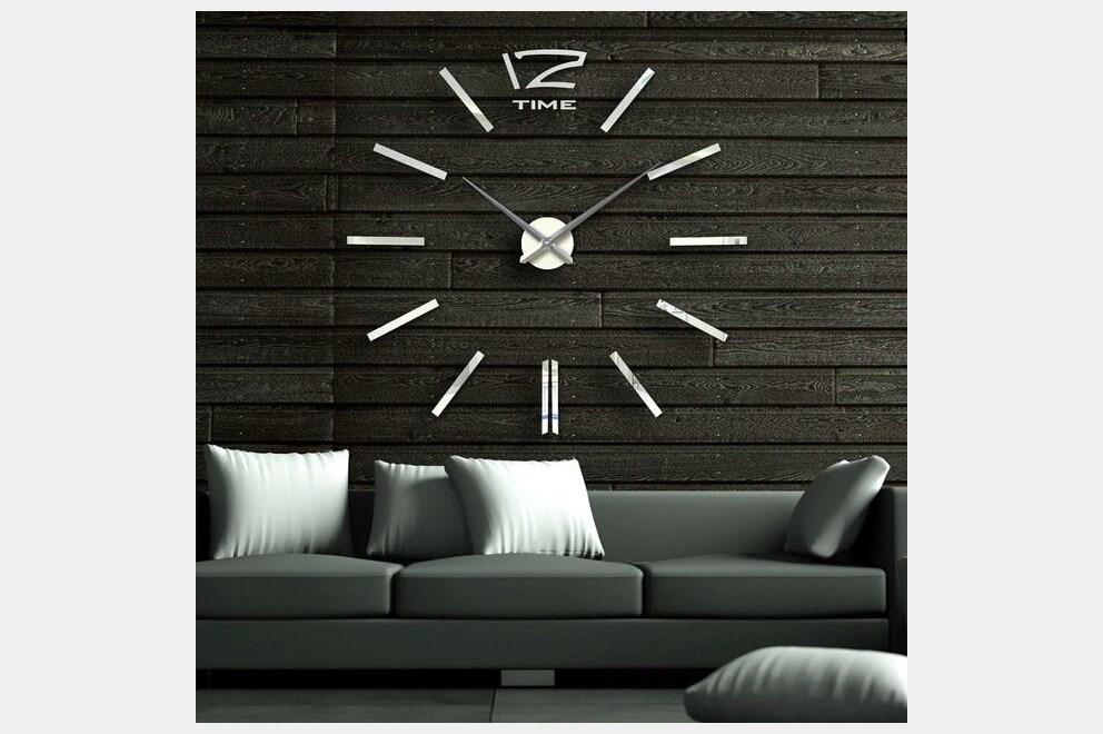 Veliki 3D zidni sat  INDEX OGLASI