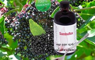 SambuRex CaliVita - Bobice crne bazge za jak imunitet
