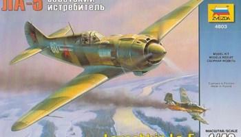 Maketa avion Lavočkin La-5 Lavotchkin La-5 1/48
