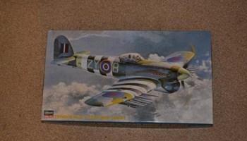 Maketa avion Typhoon 1/48