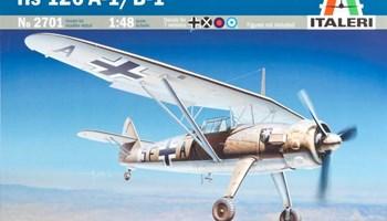 Maketa avion Henschel Hs 126 A-1/B-1 1/48