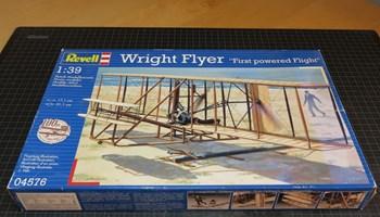 Maketa avion Wright Flyer 1903, mjerilo 1/39