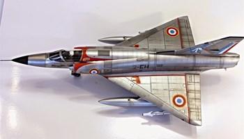Maketa avion Mirage III C IDF 1/48