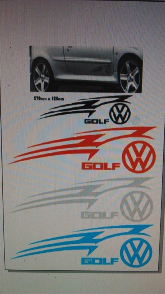 Naljepnice Za Auto Vw Golf 1 Index Oglasi