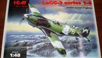 Maketa avion LaGG-3 1/48