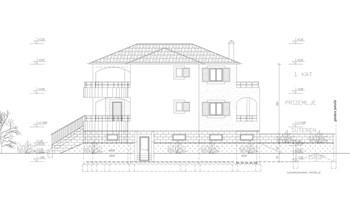 građevinski tereni s plaćenim davanjima za izgradnju vile