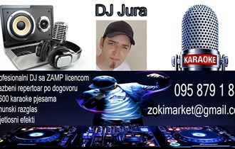 DJ za potrebe raznih proslava, evenata, tuluma....