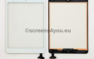 Generičko zamjensko staklo osjetljivo na dodir/touchscreen za iPad Mini 3 u bijeloj boji, R1 račun, garancija