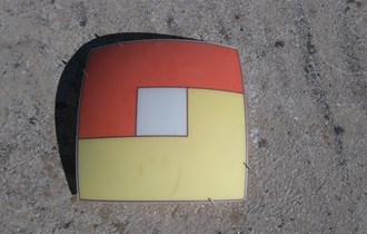 Plafonjera crveno-žuta