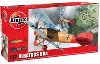 Maketa avion Albatros D.Va