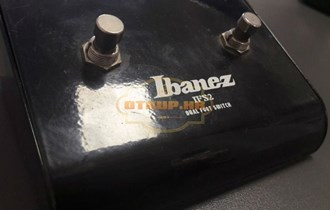 IBANEZ IFS2 DUAL FOOT SWITCH, POVOLJNO, R1, RATE