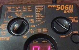 Zoom 506 II bass multiefekt