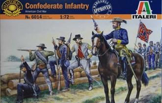 Maketa figurice AMERICAN CIVAL WAR CONFEDERATE INFANTRY