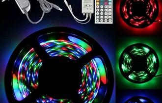 LED traka RGB 5m daljenski(44 funkcije) i adapter