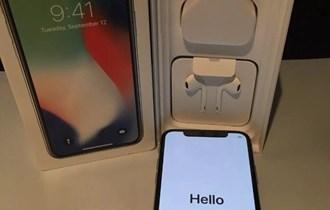Apple iPhone X €450 iPhone 8 €370iPhone 8 Plus €400