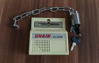 Sigurnosni lanac s alarmom