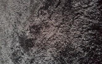 CRNI TEPIH VISOKOG FLORA - 160 x 230 cm