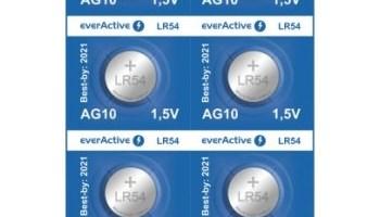 BATERIJA alkalna everActive G10 LR1130 LR54