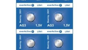 Baterija alkalna b everActive G3 LR736 LR41