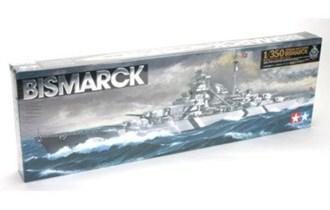 Maketa brod Bismarck Battleship _N_