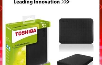 TOSHIBA CANAVIO BASICS EXTERNI HARD DISC 2 TB - NOVO