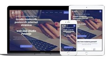 Izrada internet stranica Petrinja / Izrada web stranica / Web dizajn / Izrada modernih poslovnih internet stranica.