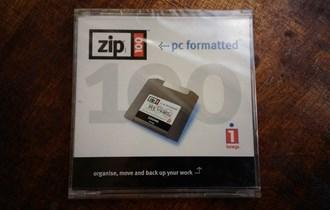Iomega Zip-100 disketa, neotvorena