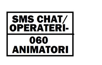 SMS CHAT ANIMATOR/ICA I 060 OPERATER/KA