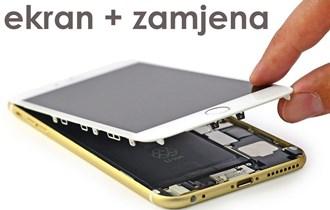 iPhone ekran novi + zamjena. Vrhunski komplet touch screen display
