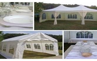 Iznajmljujem šator, hladnjaču, stolove,pribor za jelo za svatove i svečanosti