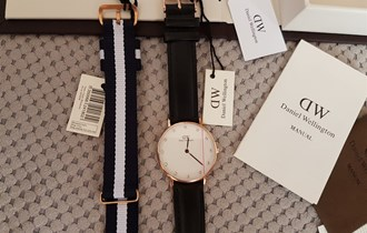 Daniel Wellington Classy Sheffield + glasgow remen
