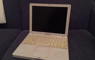 iBook G4 12 1,07GHz 768mb RAM
