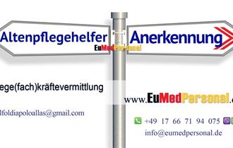 Posao za medicinske sestre / medicinski tehničari (m/ž) u Njemačku sa Eu pasoš ili Aufenthalts-, Niederlassungserlaubnis