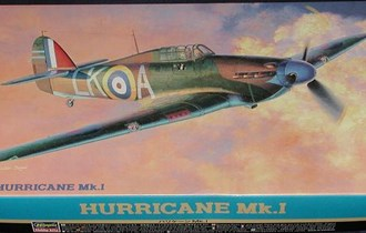 Maketa avion Hawker Hurricane Mk. I 1/48