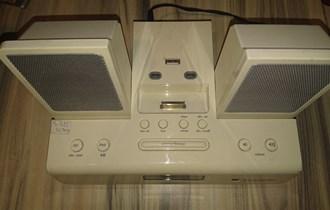 iPod baza punjač zvučnici alarm