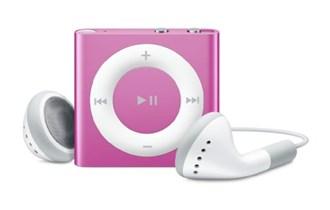 iPod Shuffle 4th generation, pink, 2GB!