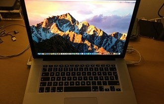 MacBook Pro 15 Early 2013, Core i7 2.4 GHZ, 8 GB, 512 GB