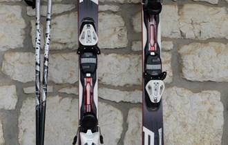 Skije Fischer 160 sa torbom i štapovima