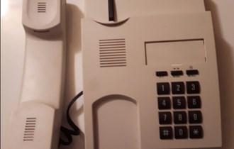 Siemens,  kvalitetan, fiksni telefon, korišten nekoliko puta