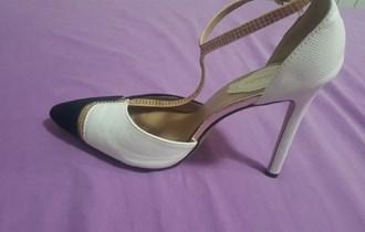 Cipele na petu s kamenčićima