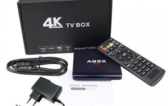 Android A95X R1 Smart TV Box 6.0 KOD 8 GB