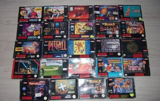 Super nintendo igre SNES LOT1