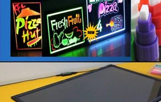 Led reklamni paneli PISATI &BRISATI razne dimenzije
