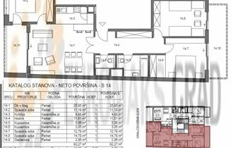 Trešnjevka_Lux novogradnja kod Cibone-4s 104 m2 sagaražom.