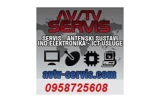 Montaža i servis satelitskih i zemaljskih digitalnih antenskih sustava.