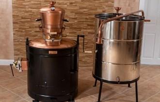 Profesional 120 litara kotao za rakiju - stabilni kotao za destilaciju i pečenje rakije