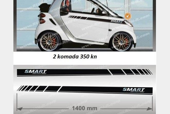 Naljepnice Za Auto Smart Skoda Toyota Vw Golf Sport Tuning Index