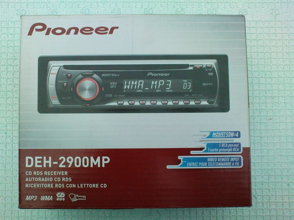 Auto radio Pioneer DEH-2900 MP | INDEX OGLASI