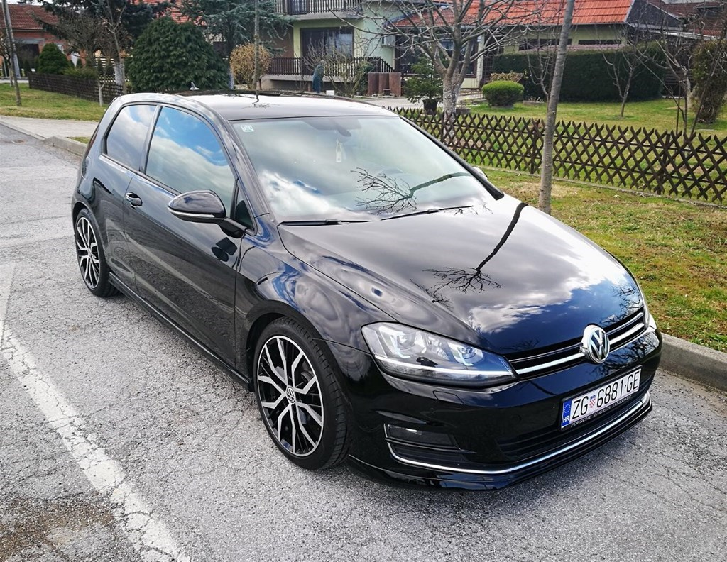 vw golf vii 2 0 tdi 150 ks r gti look index oglasi. Black Bedroom Furniture Sets. Home Design Ideas