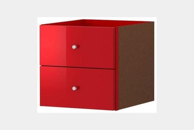 ikea expedit 2x2 ladice crvene 2 komada index oglasi. Black Bedroom Furniture Sets. Home Design Ideas